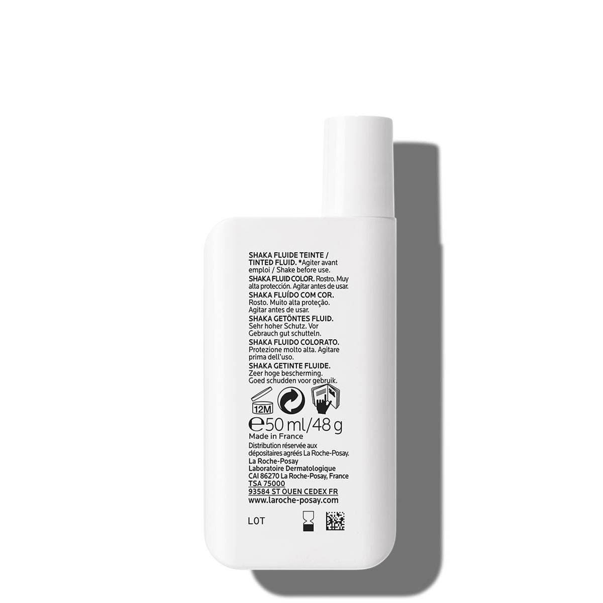 La Roche Posay ProductPage Sun Anthelios Shaka Fluid Tinted Spf50 50ml