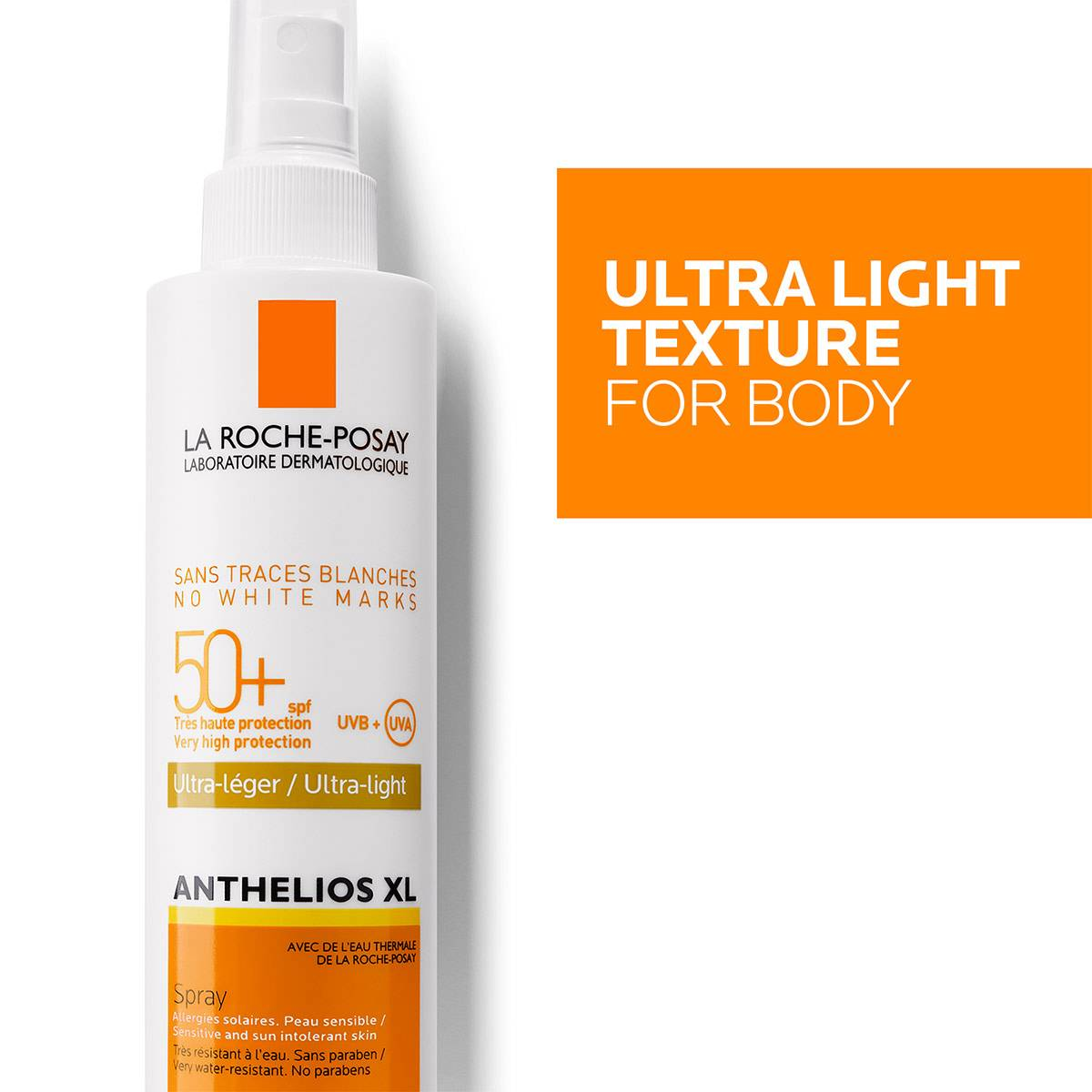 La Roche Posay ProductPage Sun Anthelios XL Ultra Light Spray Spf50 20