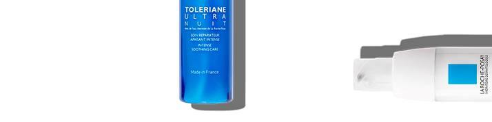 La Roche Posay sensitive skin toleriane range page top